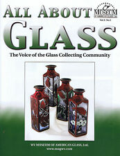 All About Glass 10-3: Kelsey Murphy cameo art glass shakers pilgrim glass