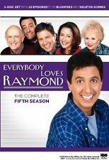 Brand New DVD Everybody Loves Raymond: The Complete Fifth Season Ray Romano