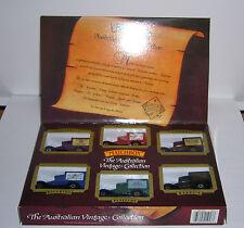 Matchbox - The Australian Vintage Collection - 6 Modelle  - OVP