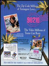 BEVERLY HILLS 90210__Orig. 1991 Trade print AD / TV pilot promo__SHANNEN DOHERTY
