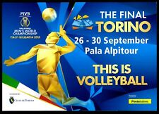 Italia 2018 - Torino : Pallavolo , this is Volleyball - folder a tir. limit.