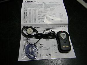 PMR-446 LPD Intek RP-436 ricevitore cercapersone 16 canali programmabili libero