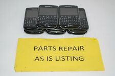 Lot of 8 BlackBerry Curve 9360 Smartphones Cell Phones AS IS