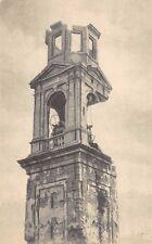 8724) WW1, VELO D'ASTICO (VICENZA) IL CAMPANILE BOMBARDATO.