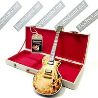 Mini Guitar RAMMSTEIN + hard case box scale 1:4 miniature gadget collectible