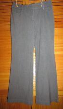 New York & Company Stretch dress pants size 6 W 32 L 31 1/2 Gray used