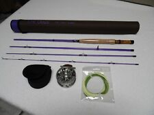 """3 WT Fly Rod and Reel Combo 7'6"""""""
