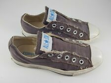 Converse All Stars size 3.5 (36) brown canvas pumps slip on trainers