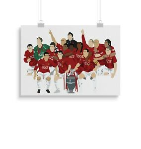 Manchester United, Football, Print, Poster, wall art, gift, home decor