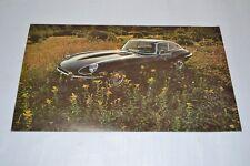 Jaguar E-TYPE Vintage 1971 Coupe Postcard / Brochure NOS XKE Series 2 S II