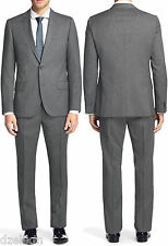 NWT Hugo (Red Label) 100 Super Wool Luxurious Slim Fit Business Suit 38R