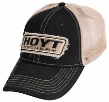 NEW 2018 Hoyt EVERYDAY Adjustable Hat BLACK TAN PATCH