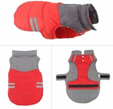 Dog Jackets Dog Coat for Windproof Waterproof Warm Dog Vest Reversible Size L