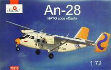 Antonow An-28, 1:72, Amodel , Sprint Airlines / Azul Ala, Escultura, NUEVO
