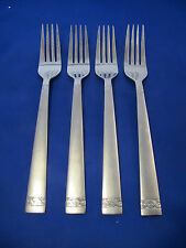 Cambridge Silversmiths DANIELLE Dinner Forks Stainless Flatware Set Of 4