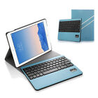 Wireless Bluetooth Keyboard + Leather Case Cover With Stand For Apple iPad air 2