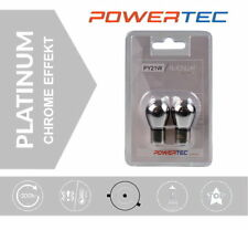 POWERTEC by M-Tech PY21W Chrome Effekt Signallampe BAU15s Chrom Blinker Birnen