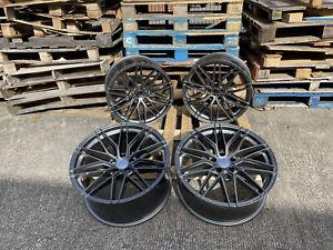 VW Transporter T5 T6 20 inch Alloy Wheels GUNMETAL HIGH LOAD 935 Spyder