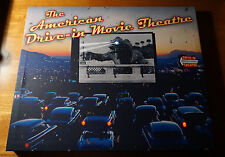 AMERICAN DRIVE-IN MOVIE THEATRE Theater Classic Retro Light Up Sign Decor NEW