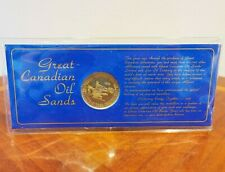 1975 Great Canadian Oil Sands - Pioneer Energy Together Medallion With Dragline