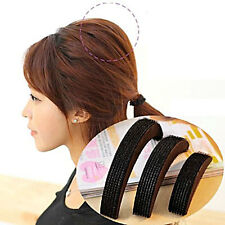 Women Girl Hair Bump Bun Maker Makeup Style Accessories Tools 3Pcs