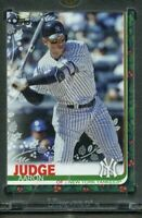 AARON JUDGE 2019 Topps Holiday Vault Blank Back #1/1 Holographic Sticker