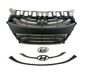 2013-14-15 Elantra GT Hatchback Front Bumper Grille Assembly Hyundai i30 Chrome