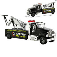 Tow Truck Construction Vehicle Model Toy Car 1:50 Scale Diecast in box7