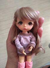 1/8 BJD Doll yellow - hana tiny Lati recast kawaii muñeca dollfie manga sd Chloe