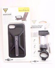 Topeak RideCase iPhone 7 /6/6s Phone Black Case TT9851B & Bike Bar Mount TC1021
