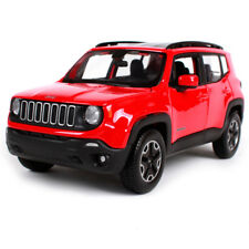 Maisto 1:24 2017 Jeep Renegade Red Diecast Model Car Toy New In Box