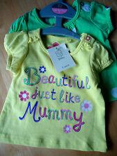 TU 100% Cotton Clothing Bundles (0-24 Months) for Girls