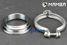 "MAMBA 6cm TD05H TD42 Turbo Dump Pipe 3"" V-Band Adapter Ring Kit"