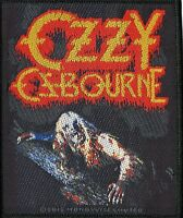 Black Sabbath Ozzy Osbourne Patch Bark At The Moon Woven Patch
