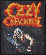 Black Sabbath Ozzy Osbourne ' Bark At The Moon ' Woven Patch