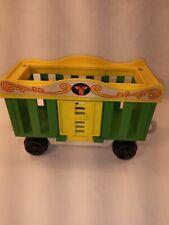 Vintage Fisher Price Circus Train 991 1973 Animal Cage Cart