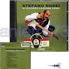"STEFANO NOSEI ""MI RICORDO..."" RARO CD CD ELIO E LE STORIE TESE - SIGILLATO"
