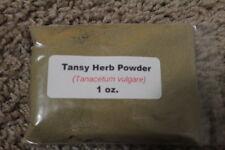 1 oz. Tansy Herb Powder (Tanacetum vulgare)