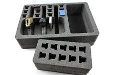 3 pistol handgun foam Range insert kit fits your Pelican 1500 case + nameplate