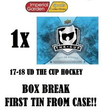 SINGLE * 17-18 * UD THE CUP HOCKEY Box Break #1822- Vancouver Canucks