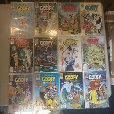 Lot of 12 Goofy Adventures (1990) #1-5 8-11 14 16 17 VF Very Fine