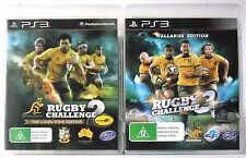 Rugby Challenge 3 Wallabies Edition and Rugby Challenge 2 PS3 Games