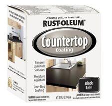 Rust-Oleum 263209 Countertop Coating Premix, 32-Ounce Kit, Black
