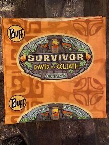 Survivor S37 Orange David vs Goliath Buff - Orange David Buff - RARE