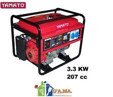 Generatore di corrente 4 T 207 CC potenza max 3.3 KW YAMATO G3300-4T