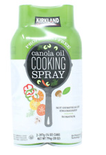 Kirkland Signature Canola Oil Cooking Spray Propellant Free - Pack of 2 x 397g