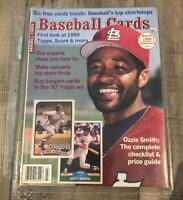 Baseball Cards Magazine - March 1989 Issue #43 - Ozzie Smith