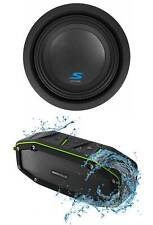 "ALPINE S-W8D2 8"" 900w Car Audio Subwoofer DVC Dual 2-Ohm Sub+Bluetooth Speaker"