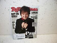 Rolling Stone Magazine November 7 2013 Paul McCartney Robin Quivers