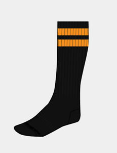 barcode Berlin > Gym Socks schwarz/orange Herren Socken 91366/129 sexy BRANDNEU